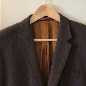 Hugo Boss Men's Brown Wool Sport Coat